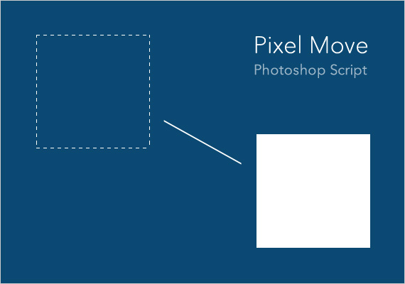 Pixel Move 数値入力で移動するスクリプト